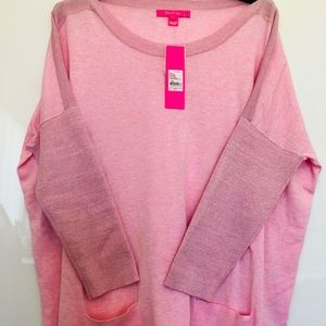 Lilly Pulitzer pink sweather